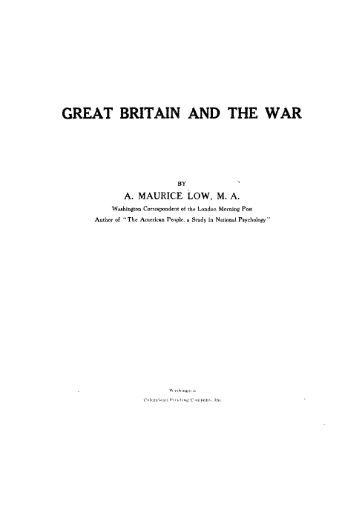the great war the sidney bradshaw fay thesis