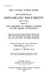 DIPLOMATIC DOCUMENTS