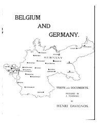 BELGIUM AND GERMANY.