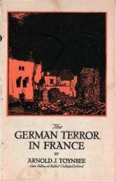 The German terror in France