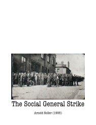 The Social General Strike - The Libertarian Labyrinth