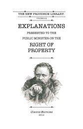 EXPLANATIONS - The Libertarian Labyrinth