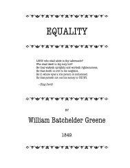 EQUALITY - The Libertarian Labyrinth