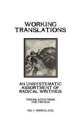 WORKING TRANSLATIONS - The Libertarian Labyrinth