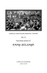 La Frondeuse #5 - The Libertarian Labyrinth