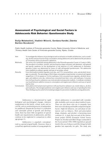 Psychology 342 adolescence jean e rhodes phd assessment of psychological and social factors in adolescents fandeluxe Images