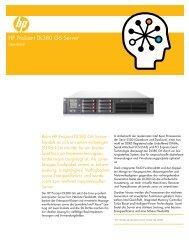 HP ProLiant DL380 G6 Server- Datasheet - aobis.de