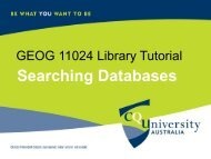 52122 Library Tutorial