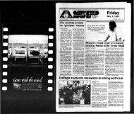 Albany Student Press 1985-05-03 - University at Albany Libraries