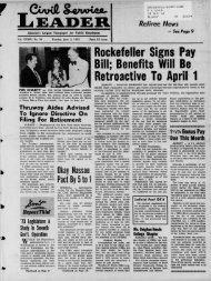 Rockefeller Signs Pay Bill - University at Albany Libraries