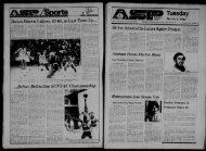 Albany Student Press 1982-03-02 - University at Albany Libraries
