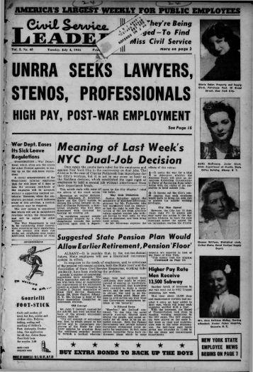 unrra seeks lawyers, stenos, professionals - University at Albany ...