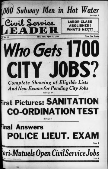 April 16, 1940 - University at Albany Libraries