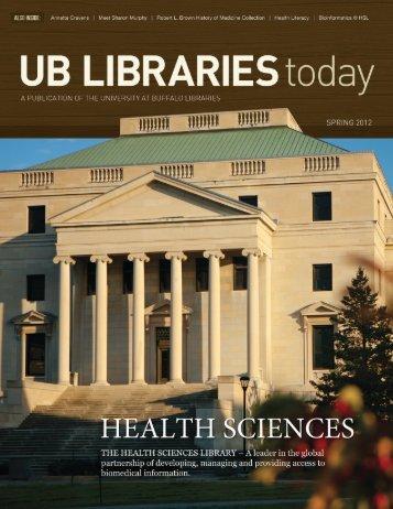 Spring 2012 - University at Buffalo Libraries