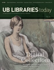 ublt-fall-2011 - University at Buffalo Libraries