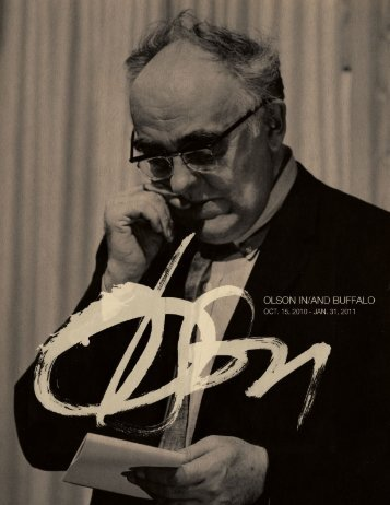 Charles Olson - University at Buffalo Libraries