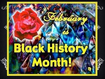 2012 Black History Program