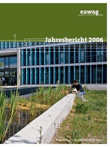 Jahresbericht Eawag 2006