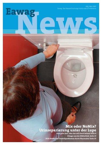 Eawag News 63d - Novaquatis - Eawag