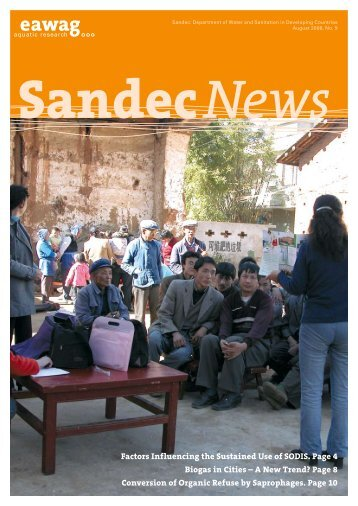 SANDEC News 9 - Eawag