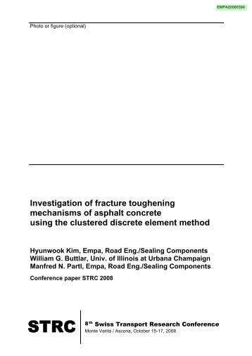 Investigation of fracture toughening mechanisms of asphalt concrete ...