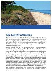 Die Küste Pommerns