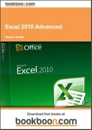 Excel 2010 Advanced - Free-eBooks.net
