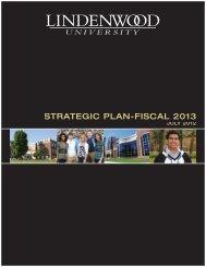 2013 Strategic Plan.pdf - Library - Lindenwood University