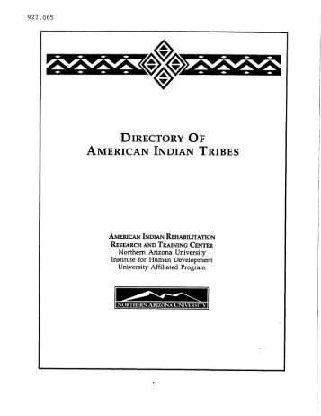 AMERICAN INDIAN TRIBES - NCRTM