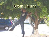 Traumatic Brain Injury - NCRTM