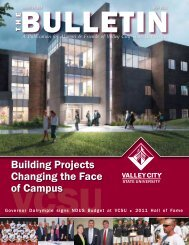 Building Projects Changing the Face of Campus - Valley City State ...