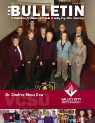 bulletin november 07.indd - Valley City State University