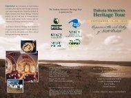 Dakota Memories Heritage Tour - Libraries - NDSU