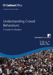 Understanding Crowd Behaviours: - Gov.uk