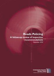 Roads Policing - cjini