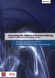 Assessing the Effects of Prevent Policing - Association of Chief ...