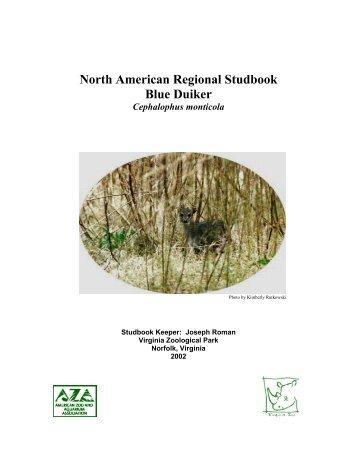 North American Regional Studbook Blue Duiker - Library