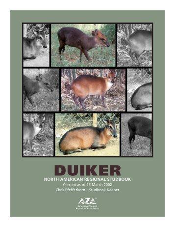 DUIKER STUDBOOK '02 - Library