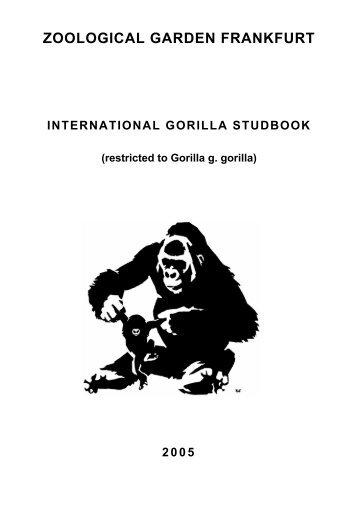 international gorilla studbook - Library - San Diego Zoo