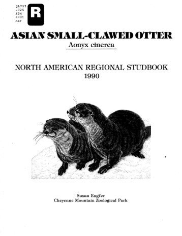 QL737 OC25 E54 1991 REF - Library - San Diego Zoo