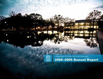 2008–2009 Annual Report - University of South Carolina Libraries