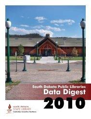 Data Digest 2010 - South Dakota State Library