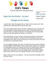 Kid's News - South Dakota State Library