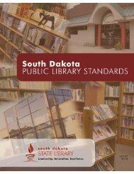 South Dakota Public Library Standards - South Dakota State Library