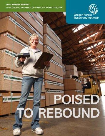 Poised to Rebound - Oregon Forest Resources Institute
