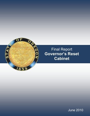 Final Report - Oregon State Library: State Employee Information ...