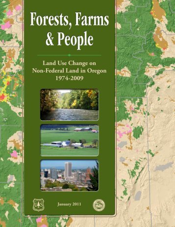 Land Use Change on Non-Federal Land in ... - State of Oregon