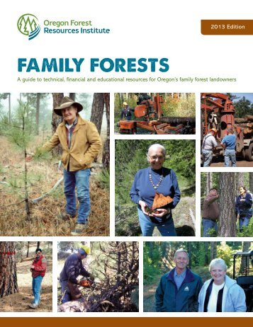 Family Forests - Oregon Forest Resources Institute