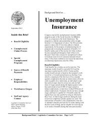Unemployment Insurance - Oregon State Library: State Employee ...