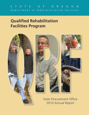 2010 Report - State of Oregon